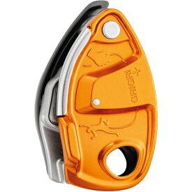 ★エントリーでポイント10倍!PETZL(ペツル) グリグリ+ オレンジ D13AAGアウトドアギア 確保器 ディッセンダー 登山 トレッキング ビレイ機 オレンジ