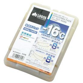 ★エントリーでポイント10倍!OUTDOOR LOGOS(ロゴス) 氷点下パックGT-16℃・ハード600g 81660612アウトドアギア 冷凍 冷蔵保存容器 保冷剤 氷点下パックGT-16℃・ハード600g