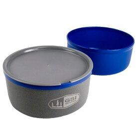 GSI(ジーエスアイ) GSI ウルトラライトネスティングボール+マグ BL 11871929ブルー セット キャンプ用食器 アウトドア テーブルウェア テーブルウェアセット アウトドアギア