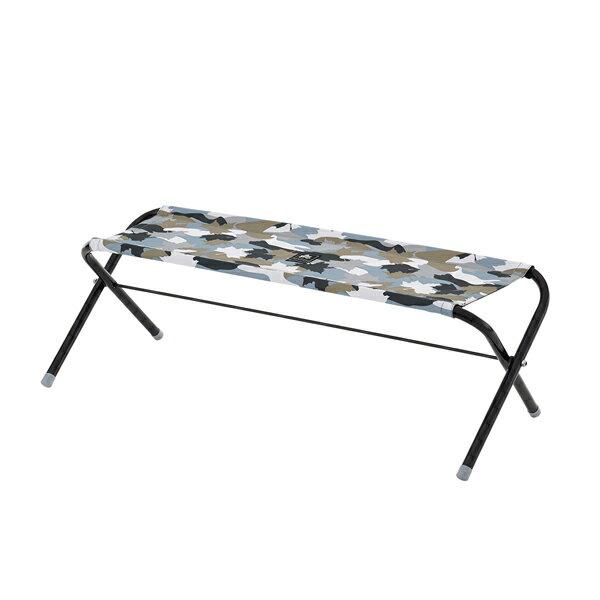 OUTDOOR LOGOS(ロゴス) デザインスプレッドベンチ(カモフラ) 73176009カモフラージュ イス レジャーシート テーブル ベンチ ベンチ アウトドアギア