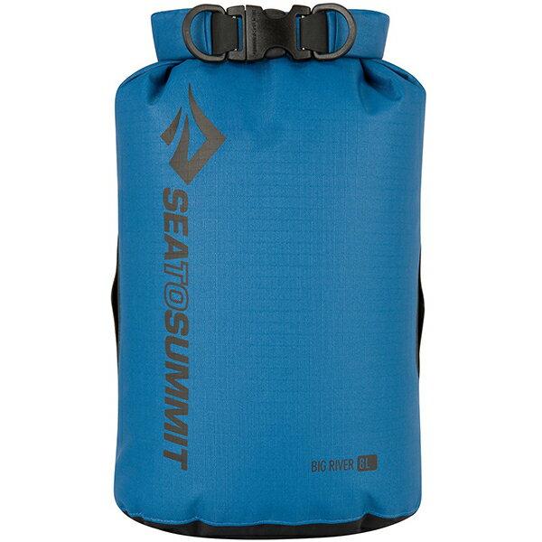 SEA TO SUMMIT(シートゥーサミット) ビッグリバー ドライバッグ/ブルー/8L ST83063ブルー バッグ アウトドア アウトドア 防水バッグ・マップケース ドライバッグ アウトドアギア