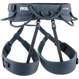 PETZL(ペツル) アジャマ/S C022AA00アウトドアギア 男性用 登山 トレッキング ハーネス グレー