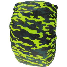 JR GEAR(ジェイアールギア) Camo Rain Cover Large/Camouflage RCV080-CMカモフラージュ レインカバー ザックカバー バッグ用アクセサリー アウトドアギア