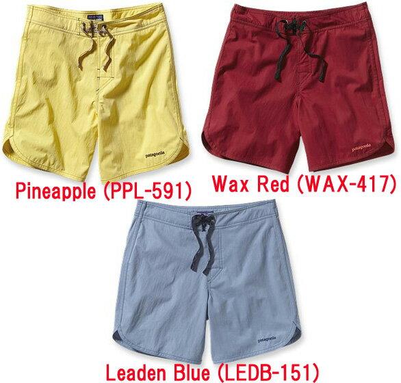 patagonia(パタゴニア) Ms Cotton Minimalist Wavefarer Board Shorts 17 in./PPL/34 86575ショートパンツ ハーフパンツ メンズウェア ショートパンツ男性用 アウトドアウェア