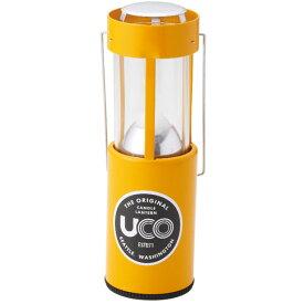 UCO(ユーコ) キャンドルランタン/イエロー 24356アウトドアギア ランタンキャンドル ライト ランタン イエロー おうちキャンプ ベランピング