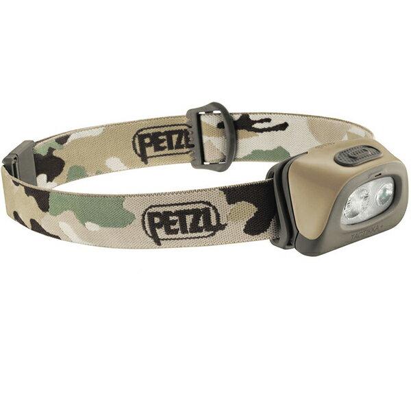 PETZL(ペツル) タクティカ+/Camo E89AABカモフラージュ ヘッドライト ランタン LEDタイプ アウトドアギア