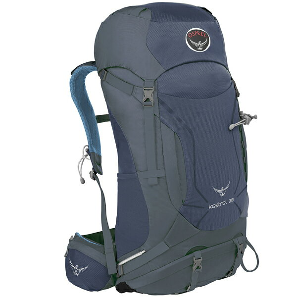OSPREY(オスプレー) ケストレル 38/オーシャンブルー/M/L OS50151ブルー リュック バックパック バッグ トレッキングパック トレッキング40 アウトドアギア