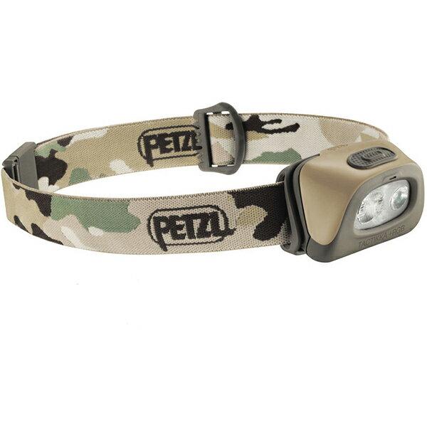 ★エントリーでポイント5倍!PETZL(ペツル) タクティカ+RGB/Camo E89ABBカモフラージュ ヘッドライト ランタン LEDタイプ アウトドアギア