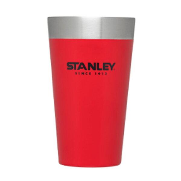 STANLEY(スタンレー) スタッキング真空パイント0.47L マットレッド 02282-045レッド タンブラー タンブラー グラス マグカップ・タンブラー アウトドアギア