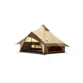 ogawa campal(小川キャンパル) グロッケ8 2786アウトドアギア キャンプ4 キャンプ用テント タープ 四人用(4人用) ブラウン おうちキャンプ ベランピング