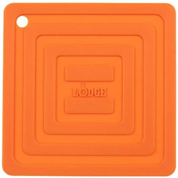 LODGE(ロッジ) [正規品]LDG シリコンスクエアポットホルダーOR AS6S61 19240094オレンジ クッカー クッキング用品 バーべキュー アクセサリー アクセサリー アウトドアギア
