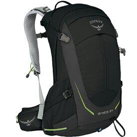 OSPREY(オスプレー) ストラトス 24/ブラック OS50304003001アウトドアギア トレッキング20 トレッキングパック バッグ バックパック リュック ブラック 男性用 おうちキャンプ