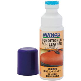 NIKWAX(ニクワックス) レザーコンディショナー EBE022アウトドアギア シューズアクセサリー(メンテナンス) シューズアクセサリー(メンテナンス用品) シューズアクセサリー 靴ケア 靴ケア用品 アクセサリ おうちキャンプ ベランピング