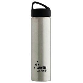 LAKEN(ラーケン) クラシック・サーモ0.75L シルバー PL-TA7アウトドアギア 保温・保冷ボトル 水筒 マグボトル シルバー おうちキャンプ