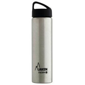 LAKEN(ラーケン) クラシック・サーモ0.75L シルバー PL-TA7アウトドアギア 保温・保冷ボトル 水筒 マグボトル シルバー おうちキャンプ ベランピング