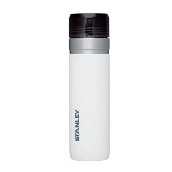 ★エントリーでポイント10倍!STANLEY(スタンレー) ゴーシリーズ 真空ボトル0.7L/ホワイト 03044-012ホワイト マグボトル 水筒 水筒 ステンレスボトル アウトドアギア