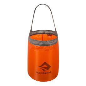 SEA TO SUMMIT(シートゥーサミット) ウルトラシル フォールディング バケット/オレンジ/ブラック/10L ST84096001アウトドアギア バケツ アウトドア バッグ オレンジ おうちキャンプ ベランピング