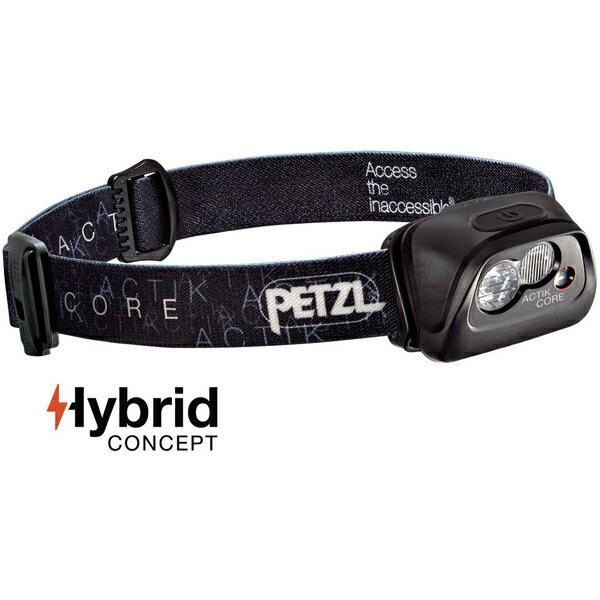 ★エントリーでポイント5倍PETZL(ペツル) アクティックコア/Black E99ABAブラック ヘッドライト ランタン LEDタイプ アウトドアギア