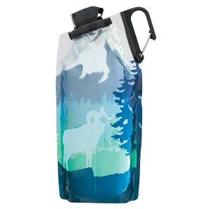 platypus(プラティパス) デュオロックソフトボトル/ビッグホーンブルー/1.0L 25050アウトドアギア ソフトパック 水筒 マグボトル ブルー おうちキャンプ ベランピング