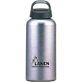 LAKEN(ラーケン) クラシック0.6L シルバー PL-31アウトドアギア アルミボトル 水筒 マグボトル おうちキャンプ ベランピング
