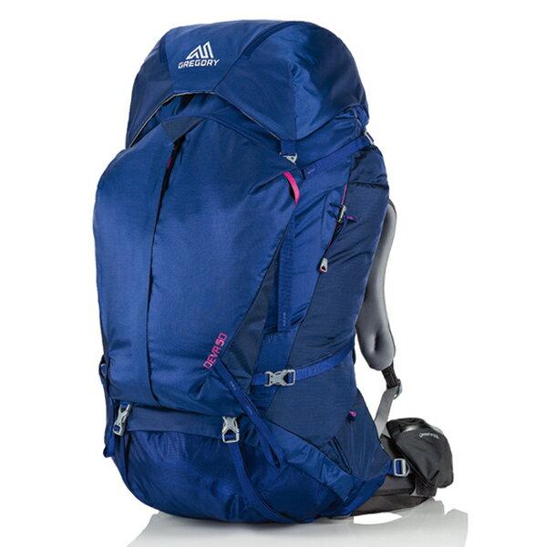GREGORY(グレゴリー) ディバ50/エジプシャンブルー/S 78667女性用 ブルー リュック バックパック バッグ トレッキングパック トレッキング50 アウトドアギア