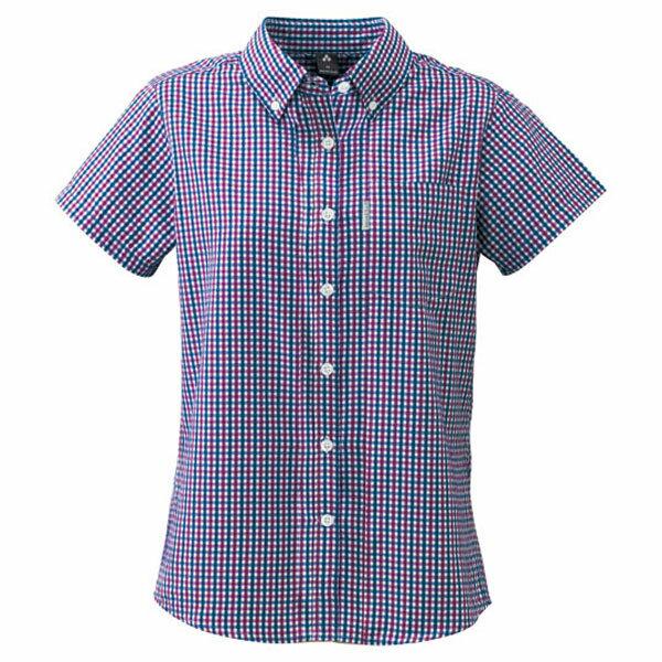 ★エントリーでポイント5倍!mont-bell(モンベル) WIC.DT.H/SシャツWS/PU/S 1104952カットソー Tシャツ トップス 半袖シャツ 半袖シャツ女性用 アウトドアウェア
