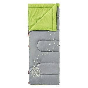 Coleman(コールマン) グローナイトキッズ/C7 (ライム) 2000022259アウトドアギア 封筒サマー 封筒型 アウトドア用寝具 寝袋 シュラフ サマータイプ(夏用) イエロー 子供用 おうちキャンプ ベランピ
