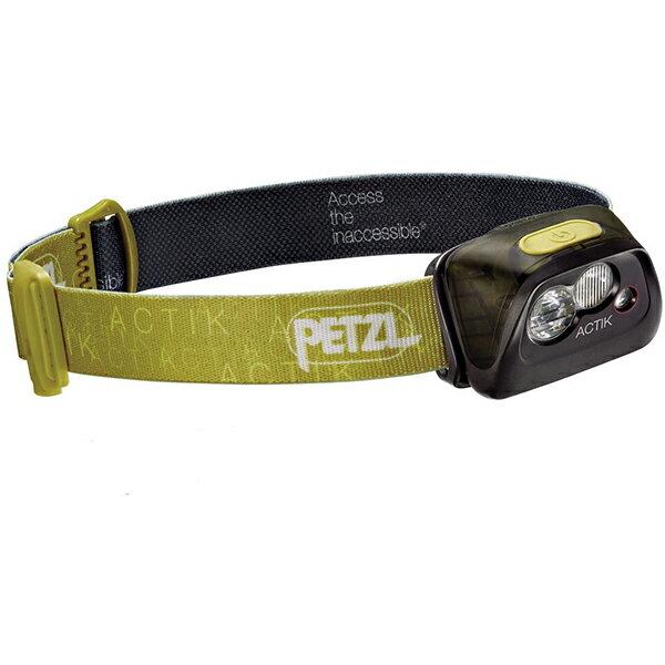 PETZL(ペツル) アクティック/Green E99AABグリーン ヘッドライト ランタン LEDタイプ アウトドアギア