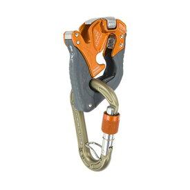 climbing technology(クライミングテクノロジー) クリックアップ プラス オレンジ CT-31062アウトドアギア 確保器 ディッセンダー 登山 トレッキング ビレイ機 おうちキャンプ ベランピング