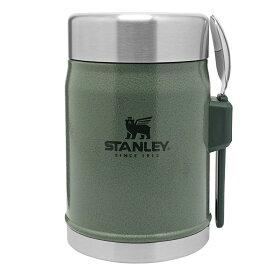 納期:2021年06月下旬STANLEY(スタンレー) クラシック真空フードジャー 0.41L/グリーン 09382-010アウトドアギア フードコンテナ 水筒 弁当箱 グリーン おうちキャンプ ベランピング