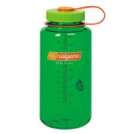 ★エントリーでポイント10倍!NALGENE(ナルゲン) ナルゲン広口1.0L/メロンボール 91433アウトドアギア 樹脂製ボトル 水筒 マグボトル グリーン