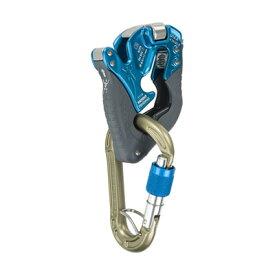 climbing technology(クライミングテクノロジー) クリックアップ プラス ブルー CT-31065アウトドアギア 確保器 ディッセンダー 登山 トレッキング ビレイ機 ブルー おうちキャンプ
