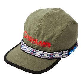 KAVU(カブー) EmbroideryStrapCap/COGHLANS/Olive/L 19810756帽子 メンズウェア ウェア ウェアアクセサリー キャップ・ハット アウトドアウェア