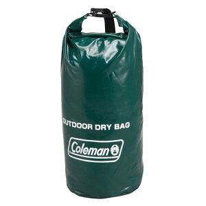 納期:2021年08月上旬Coleman(コールマン) アウトドアドライバッグ/M 170-6898アウトドアギア 防水バッグ・マップケース 革 レザーケア レザーケア用品 防水 防水用品 グリーン おうちキャンプ ベ
