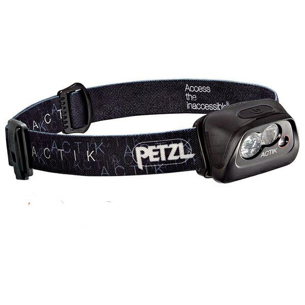 PETZL(ペツル) アクティック/Black E99AAAブラック ヘッドライト ランタン LEDタイプ アウトドアギア