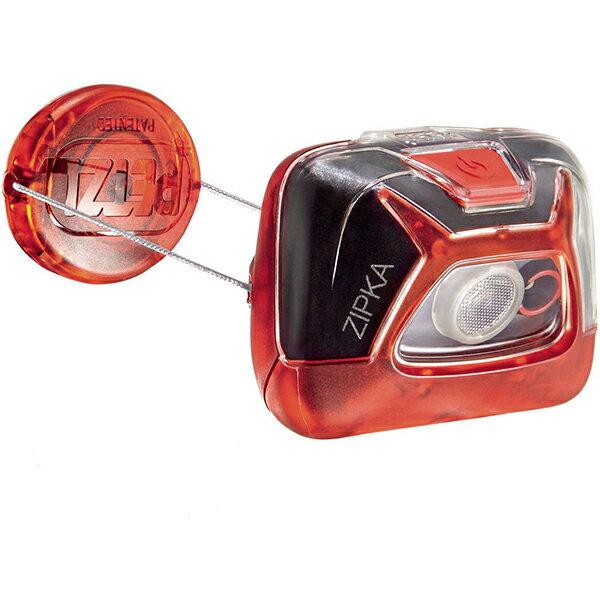 PETZL(ペツル) ジプカ/Red E93ABBレッド ヘッドライト ランタン LEDタイプ アウトドアギア