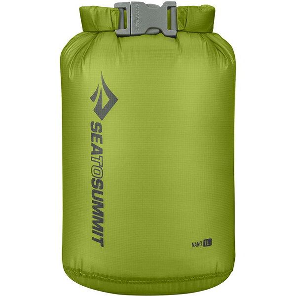 SEA TO SUMMIT(シートゥーサミット) ウルトラシルナノ ドライサック/ライム/1L ST83001グリーン バッグ アウトドア アウトドア 防水バッグ・マップケース ドライバッグ アウトドアギア