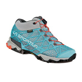 LA SPORTIVA(ラ・スポルティバ) シンセシスMIDGTX Ws/アイスブルー/38 14QIB女性用 ブルー ブーツ 靴 トレッキング トレッキングシューズ ハイキング用 アウトドアギア