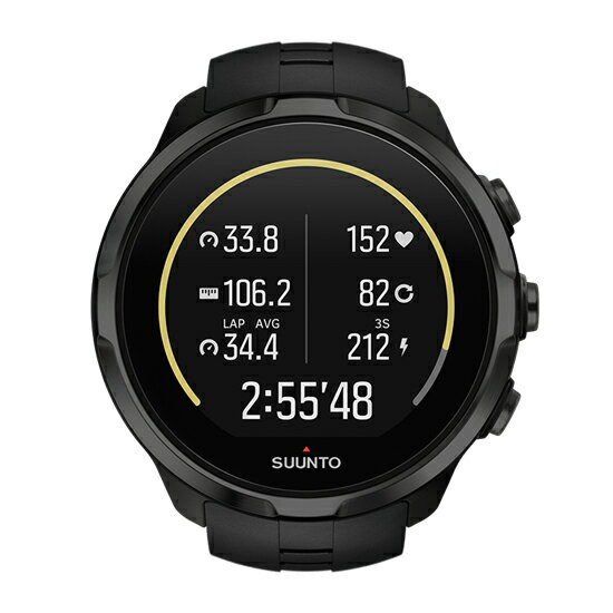 SUUNTO(スント) SPARTAN SPORT WRIST HR ALL BLACK SS022662000男女兼用腕時計 腕時計 高機能ウォッチ アウトドアギア