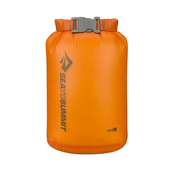 SEA TO SUMMIT(シートゥーサミット) ウルトラシルナノ ドライサック/オレンジ/1L ST83001オレンジ ウルトラシルナノ ドライサック バッグ アウトドア アウトドア 防水バッグ・マップケース ドライバッグ アウトドアギア