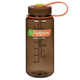 ★エントリーでポイント10倍!NALGENE(ナルゲン) ナルゲン広口0.5L/ウッズマン 91421アウトドアギア 樹脂製ボトル 水筒 マグボトル ブラウン