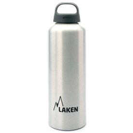 LAKEN(ラーケン) クラシック1.0L シルバー PL-33アウトドアギア アルミボトル 水筒 マグボトル おうちキャンプ