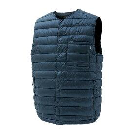 NANGA(ナンガ) ダウンベスト/NVY/XL DVT113アウトドアウェア 半袖Tシャツ男性用 半袖Tシャツ トップス カットソー ネイビー おうちキャンプ