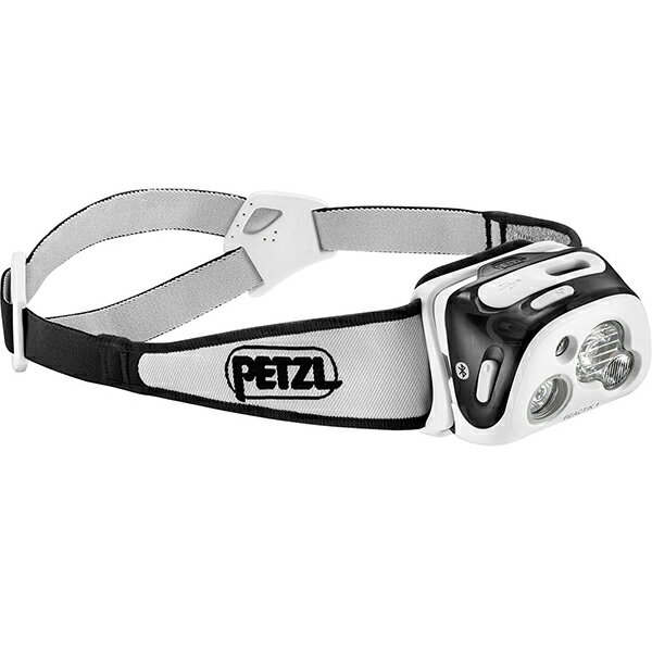 PETZL(ペツル) リアクティックプラス/Black E95HNEブラック リアクティック プラス ヘッドライト ランタン LEDタイプ アウトドアギア