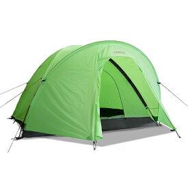 【楽天カード決済限定!ポイント最大11倍!】ESPACE(エスパース) スーパーライト Plus4-5人用(レインフライ付) SPLPlusアウトドアギア 登山4 登山用テント タープ 四人用(4人用) グリーン おうちキャンプ ベランピング