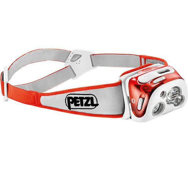 PETZL(ペツル) リアクティックプラス/Coral E95HMIピンク ヘッドライト ランタン LEDタイプ アウトドアギア