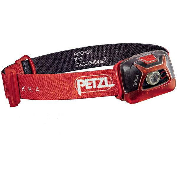 PETZL(ペツル) ティカ/Red E93AACレッド ヘッドライト ランタン LEDタイプ アウトドアギア