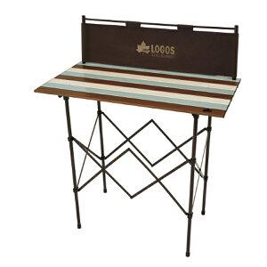 OUTDOOR LOGOS(ロゴス) LOGOS Life キッチンパーティーカウンター 9047(ヴィンテージ) 73188010アウトドアギア キッチンスタンド レジャーシート テーブル おうちキャンプ ベランピング