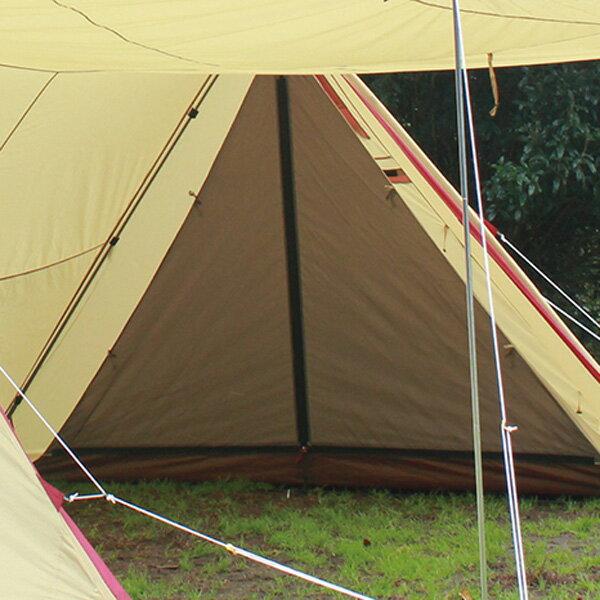 ogawa campal(小川キャンパル) ツインピルツ フォーク ハーフインナー 3567テントアクセサリー タープ テント テントオプション アウトドアギア