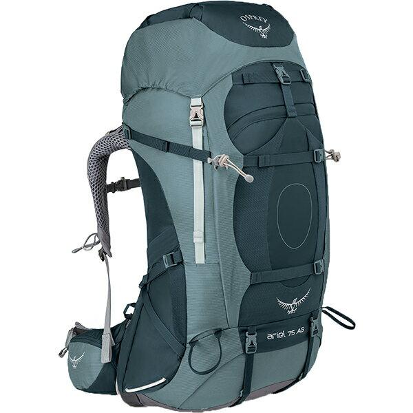 OSPREY(オスプレー) エーリエルAG 75/ブースベイグレー/S OS50065女性用 グレー リュック バックパック バッグ トレッキングパック トレッキング大型 アウトドアギア